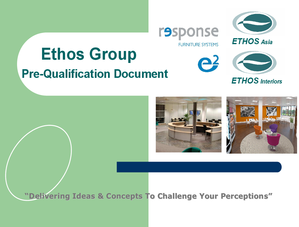 Ethos Group - Pre-Qualification Document